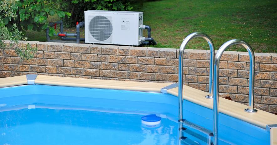 Pompe a chaleur pour piscine horizontale